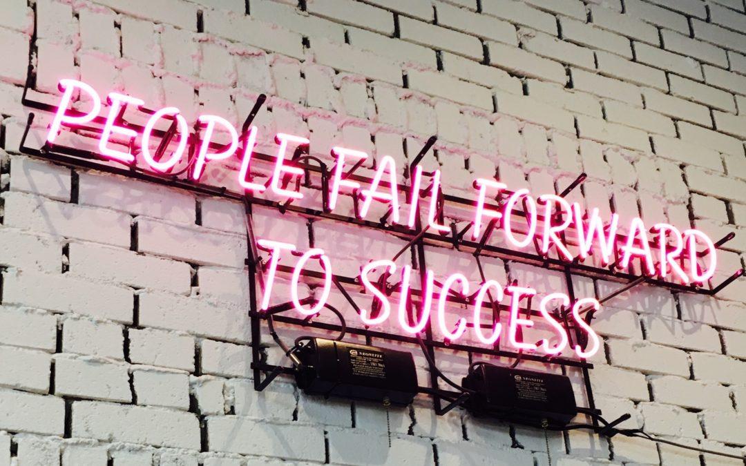 5 motivi per fallire verso il successo